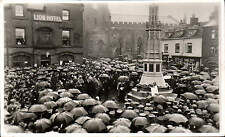More details for uttoxeter war memorial ceremony by alfred mccann, uttoxeter.