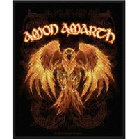Amon Amarth Phoenix Patch Official Death Metal Rock Band Merch New
