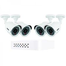 UNIDEN GDVR4240 DVR SECURITY SYSTEM D1 TECHNOLOGY 4 x WEATHERPROOF CAMERAS 4CH
