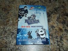 VICTORIA ROYALS 2014-15 WHL WESTEN HOCKEY LEAGUE SCHEDULE