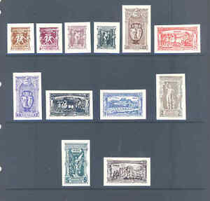 GREECE 1896 ATHENS FIRST OLYMPICS SET ON CARD VERY FINE ..............6