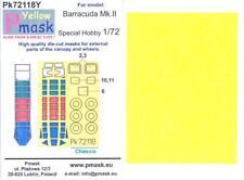 Model Maker 1/72 FAIREY BARRACUDA Mk.II Kabuki Tape Paint Mask Set Special Hobby