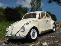 RC VW Käfer Modell 1300 CLASSIC in CREME Länge 23cm Ferngesteuert 40MHz   403031