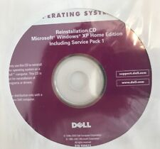 Microsoft Windows XP SP1 Home Dell Reinstall Reinstallation Disc CD