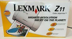 Lexmark Z11 Inkjet printer 70D0295 NEW Still in Box
