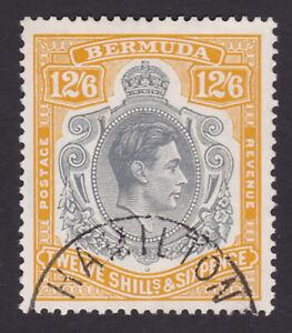 Bermuda. SG 120b, 12/6 grey & pale orange. Very fine used.
