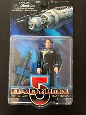 Babylon 5 Captain Sheridan with station action figure (Previews Exclusive, 1997)
