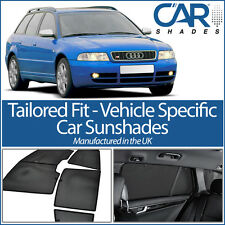 Audi A4 Avant 1994-2001 UV CAR SHADES WINDOW SUN BLINDS PRIVACY GLASS TINT BLACK