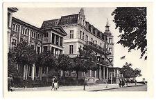 AK, Ostseebad Zinnowitz Usedom, Straßenpartie, 1953