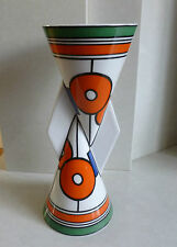"*WEDGWOOD CLARICE CLIFF YO-YO VASE ""CIRCLES & SQUARES"" LIMITED EDITION RARE*"