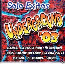 Underground 03   Solo Exitos   BRAND NEW SEALED    CD