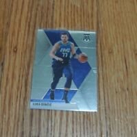 2019-20 Luka Doncic Panini Mosaic Base Card Dallas Mavericks #44