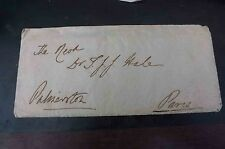Letter from Palmerston 1851 foreign office