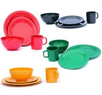 16 Piece Dinnerware Set for 4 people, in 4 Color Sets with 4 Piece per Set