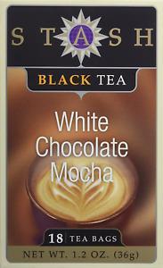 White Chocolate Mocha Tea, Stash, 18 tea bag 1 pack