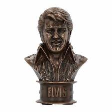 Elvis Presley Piccolo Collectors Bronzo Busto Statua - in Scatola Nemesis Now