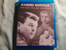 Casino Royale 1954 BD-R Blu-ray Disc RARE Barry Nelson Manufactured On Demand