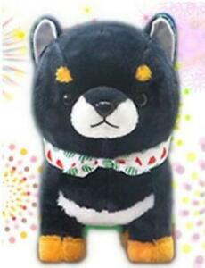 AMUSE Mameshiba Brothers Evening Cool Charcoal Gray Plush Brand New From Japan