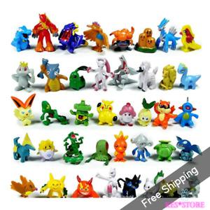 144Pcs  Different Styles Pokemon Figures Model Collection 2-3cm Pokémon Pika New