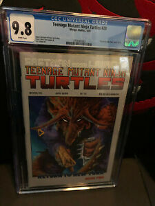 Teenage Mutant Ninja Turtles #20 CGC 9.8 WP Mirage