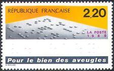 France 1989 Braille/Blind/Medical/Disabled/Embossed 1v (n32127)