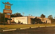 Livonia Michigan~Moy's Restaurant: Cantonese, Japanese Cuisine 1970s