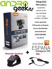 Camara deportiva GITUP GIT2P PRO +Microfono+mando.GARANTIA OFICIAL GITUP ESPAÑA