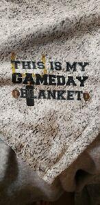 "Fleece Blanket ""This Is My Gameday Blanket"""