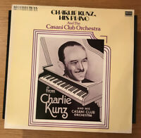 Charlie Kunz His Piano Casini Club Orch LP Decca mint LP sleeve NM Mono