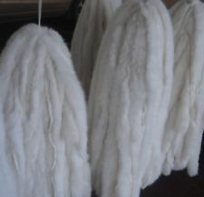 Black Furryvalley Faux Fur Trim Raccon Fox Fur Ribbon Craft Furry Stripe for Slippers Slides Fringe 2 Yards