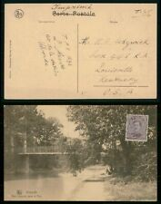 Mayfairstamps Belgium 1920s Vilvorde to Louisville Ky Usa Picture Postcard wwo35