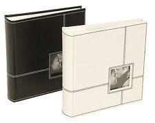 "Sonata Classic Photo Album (Black) 200 Photos 6x4"" NEW   20483"