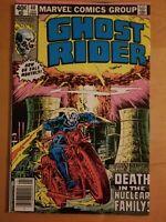 Ghost Rider #40 Marvel Comics (1980) Newsstand Edition Nice Copy