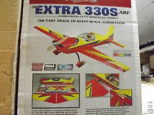 GREAT PLANES EXTRA 330S GIANT SCALE ARF NIB