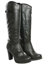 s Oliver High Heel Stiefel Damen Schuhe Boots Stiefeletten Blockabsatz 40 41