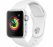 Apple Watch Series 3 GPS 38mm Silver Aluminum with White Sports Band