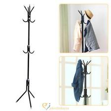 Coat Rack Stand Tree Clothes Holder Hat Hanger Hall Metal Hook Umbrella Entryway