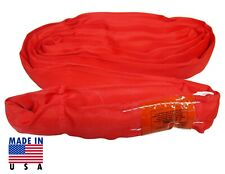 Usa Domestic 6 Red Endless Round Lifting Sling Crane Rigging Recovery Wrecker