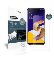 2x Asus Zenfone 5Z ZS620KL Screen Protector matte Flexible Glass 9H dipos