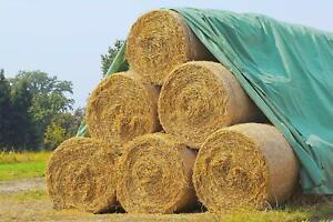 12,5 x 9,8m Schutzvlies Stroh Heuballenschutz Heuvlies Getreidevlies Strohvlies
