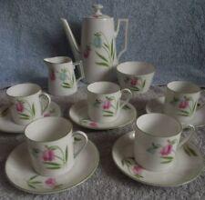Tableware Coffee/Tea Set Continental Porcelain & China