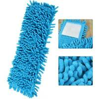 Flat Mop Chenille Replacement Cloth Floor Dust Cleaning Pads Microfiber Mop Head