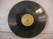 Frigidaire One Minute Dramatized Announcements, RCA LCS 016746, 33 RPM, ETCHED