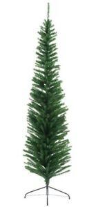 Kaemingk Sofia Slim Pencil Pine Christmas Tree - Green - 180cm/1.8m/6ft