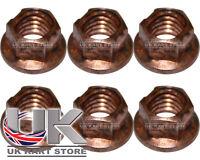 Copper Wheel K Nut x 6 TonyKart / OTK / Compkart / X30 / Rotax UK KART STORE
