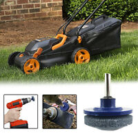 1x Universal Lawn Mower Faster Blade Sharpener Grinding Power Drill Garden/Tool