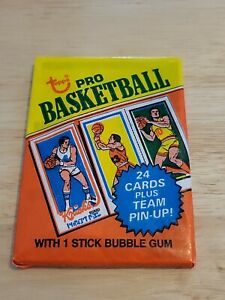 1980-81 Topps Basketball Sealed Wax Pack! Possible Bird Erving Magic RC