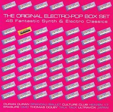 The original ELECTRO POP BOX 3cds NUOVO Talk Talk Extended Mix Brother Beyond 12""