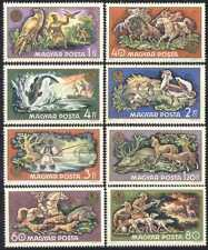 Hungary 1971 Hunting/Birds/Horses/Dogs/Deer/Fish/Animals/Nature 8v set (n28471)
