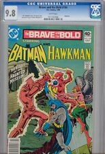 Brave and the Bold 164 CGC 9.8 1980 with Hawkman and Batman: Price Drop!